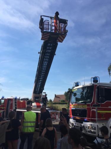 Probealarm mit der Feuerwehr